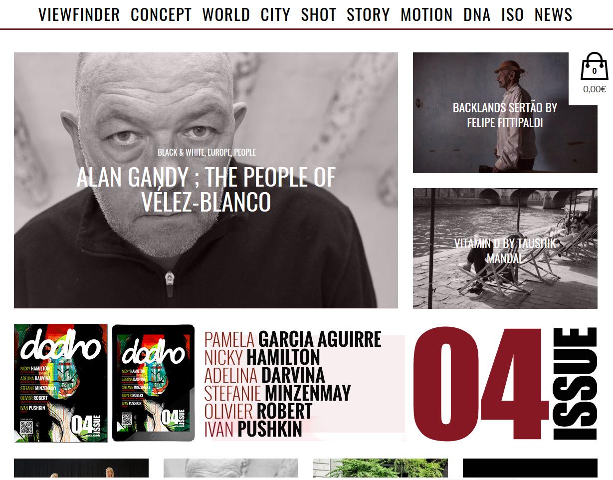 Alan Gandy in Dodho Magazine